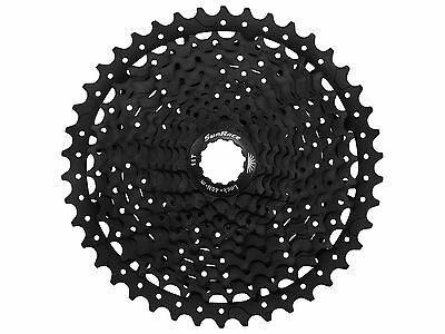SunRace 11-Speed Cassette CSMS8 11-46T Wide Ratio in Black