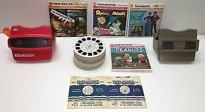 Vintage Viewmaster Reel Lot Lost Space Dark Shadows Partridge Nanny Moto Sports