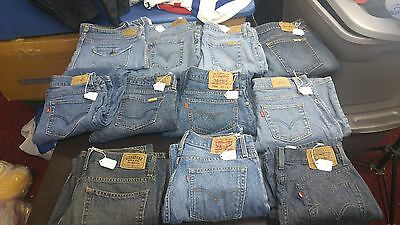 Women's Mixed Lot of 11 Levi's Jeans,Various Styles,Sizes for RESALE Levi's Jean