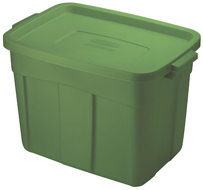 18 Gallon Large Storage Tote Container Bin Plastic Box Stackable Heavy Duty Lid