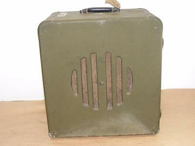 Vtg Army Military Style Bell Howell Projector Speaker No model number