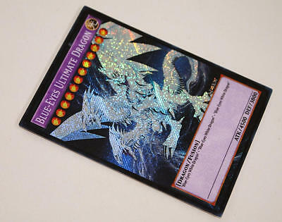 Blue-Eyes Ultimate Dragon YUGIOH orica SECRET RARE custom altered art proxy