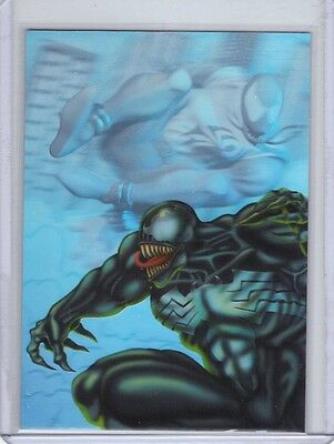 1995 Fleer Ultra Holoblast Limited Edition #6 Venom vs. Scarlet Spider