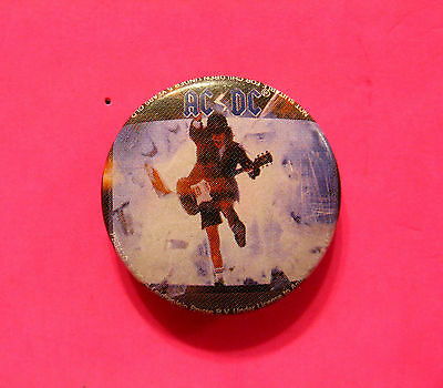 "Ac/dc New Official 2004 Button Badge Pin Uk Import ""blow Up The Video"""