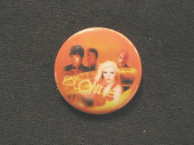 Blondie New Official Button Badge Pin Uk Import