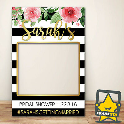 Gold Instagram Frame Photo Booth Prop 80 X 110 Cm 11900