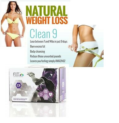 Forever Living C9 Clean 9 Detox Aloe Vera Cleanse Clear 9 Diet Weight Loss Plan