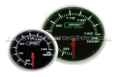 Manometre de temperature d'huile Prosport 52mm oil temperature gauge