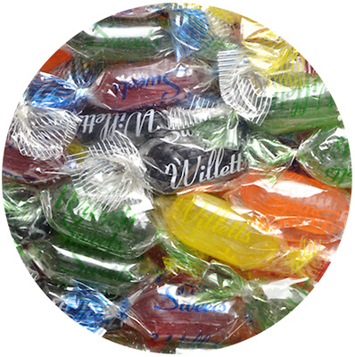 BOILED SWEETS Willetts Fruit Drops BRITISH SWEETS THE BEST