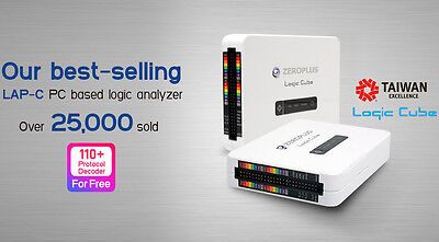 Zeroplus Logic Cube LAP-C (16032) USB logic analyzer, 16 channels, 32 kb/channel
