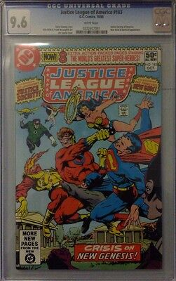 Justice League Of America #183 Cgc Universal Grade 9.6 Dc Comics Jla