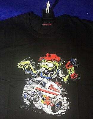 Snap On Medium M T-Shirt 100% Cotton Gremlin Mechanic Impact Gun Van NEW T SHIRT