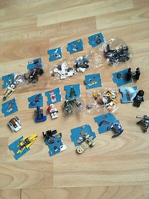 17 Pieces Star Wars Lego Advent Calendar 2014 Inc 2 Figures Some Sealed  75056