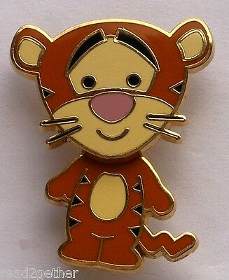 Disney Pin DLRP Cuties Collection Tigger Bobble