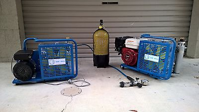 Portable High Pressure Breathing Air Compressor (Scuba Diving)+Delivery (Extra)