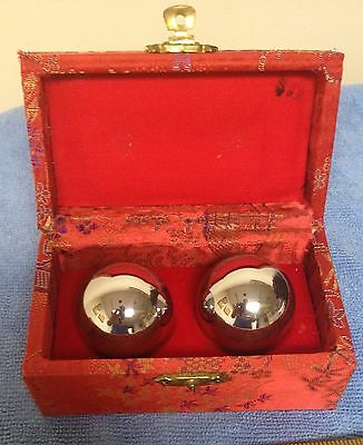 Hebei Province Baoding Iron Hollow Balls Box with Instructions 12 of 1985