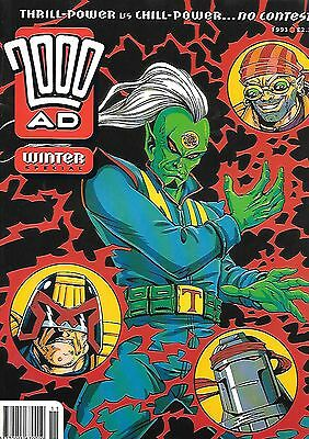 2000 AD Winter Special 1993 (top grade) 68 pages - part colour