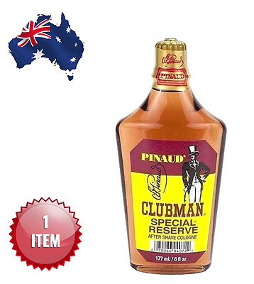 CLUBMAN PINAUD SPECIAL RESERVE  AFTER SHAVE COLOGNE 177 ml. - AUS SELLER