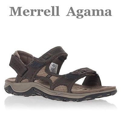 Merrell Men's Agama Leather Hiking Sandals, US 7/8/9/10/11/12/13 - $120 NWT!