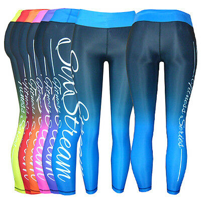 Six Stream Two-Toned Fitness Series Leggings Cross-Fit Sport Exercise Running