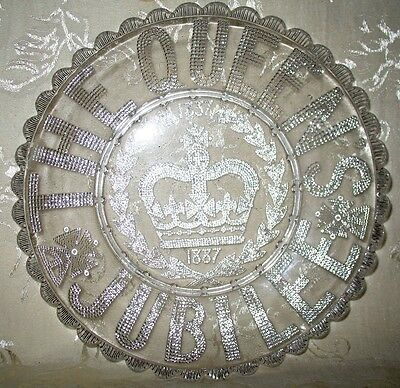 Queen Victoria 50 Year Jubilee Bowl, 1837 to 1887, a Historical Celebration!