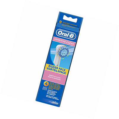 Oral-B Sensitive Clean - Pack 4 Brossettes - NEUF