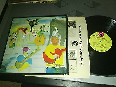 The Band – Music From Big Pink RARE LP UK 1969 NM  Capitol Records – ST 2955