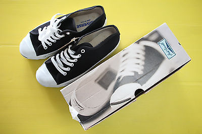 90S' Converse Jack Purcell Black color low Size5.5 Deadstock New with box USA