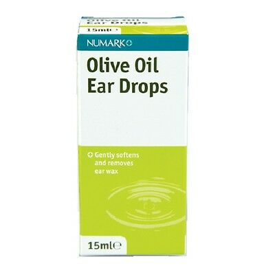 Olive Oil Ear Drops Soften Remove Ear Wax Effective & Easy Cleansing Health Care