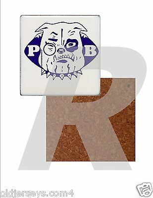 CoFL Philadelphia Bulldogs Tile Drink Coaster with Cork Back