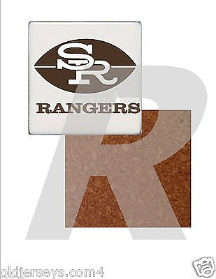 CoFL Seattle Rangers Tile Drink Coaster with Cork Back
