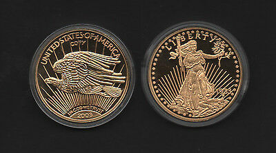 m7305 USA Gold Eagle 1933 ( 2003 ) Medaille PP mit EZ