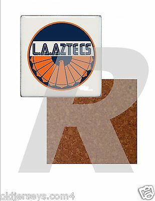 NASL Los Angeles Aztecs Tile Drink Coaster with Cork Back