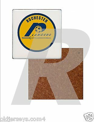 NASL Rochester Lancers Tile Drink Coaster with Cork Back