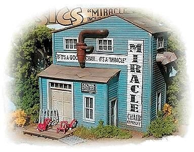 Bar Mills Ho Scale Miracle Chair Company | Bn | 732