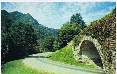 Loop Overpass Great Smokey Mountains National Park - Postcard # S1499-4