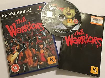 Sony Playstation 2 Ps2 Game The Warriors Boxed + Instructions Complete Pal