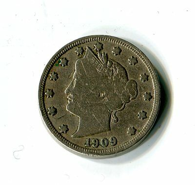 5 Cents USA 1909 Liberty Head Nickel M_1169