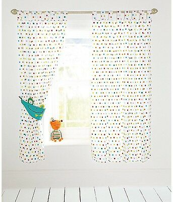 Mamas and Papas Pippop Lined Curtains (RRP £75)