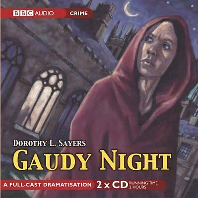 Book : Gaudy Night by Sayers  Dorothy L. CD-Audio New