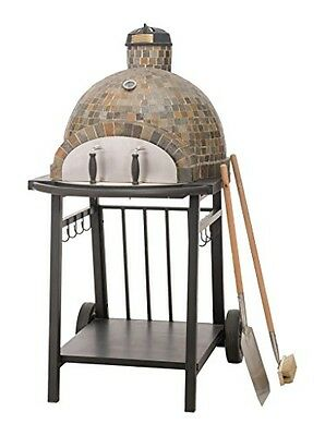 sunjoy Sunjoy L-BQ127PST-A Killington Wood-Fired Pizza Oven