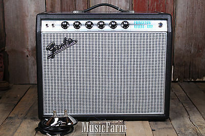 Fender® '68 Custom Princeton Reverb Electric Guitar Amplifier Amp w Footswitch