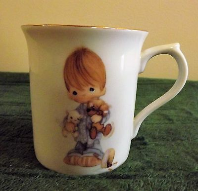 "Precious Moments 1984 ""blessed Are The Peacemakers"" Rare Mug"