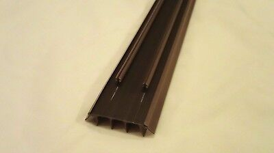 Brown Masonite Premdor Ceco Stanley Fiberglass Door Bottom Weatherstrip Sweep