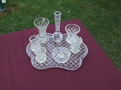 Crystal Dressing Table Setting