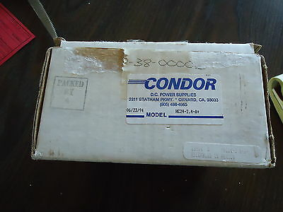 New Condor D.c. Power Supply Model# Hc24-2.4-A+