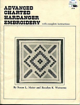 ADVANCED CHARTED HARDANGER EMBROIDERY Nordic Patterns  STITCH INSTRUCTIONS
