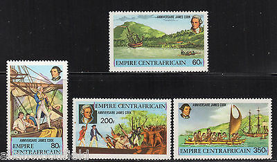 Central African Republic   #341-344   Mint Nh   (1607185)