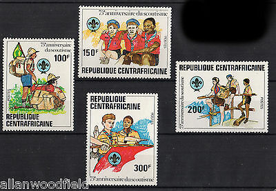 Central African Republic   #497-500   Mint Nh   (1607191)