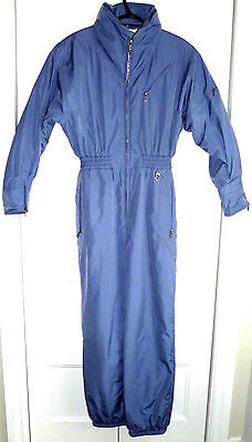 Beautiful Bogner One Piece Winter Insulated Snow Ski Suit Lavender Blue Sz 10